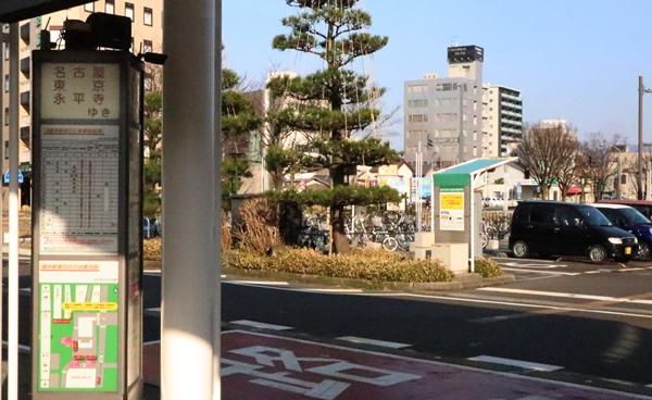 福井駅バス乗り場