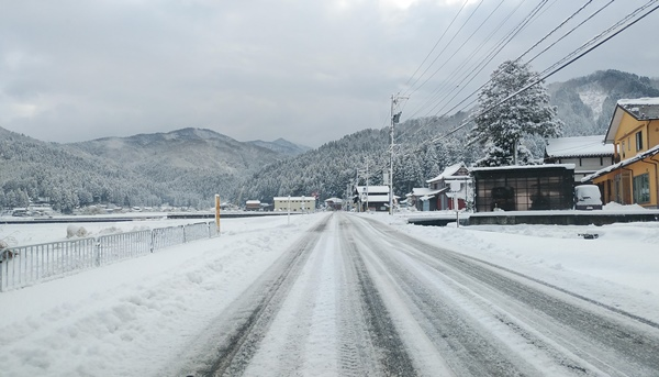 永平寺の道