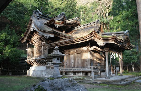 岡太神社 大滝神社