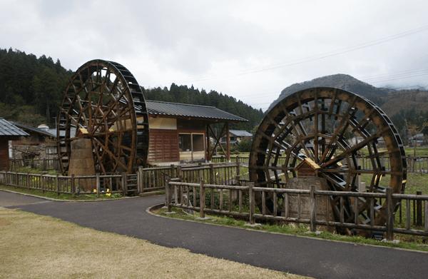 竹田地区の水車