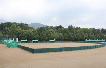 越前市武生東運動公園のソフトボール競技