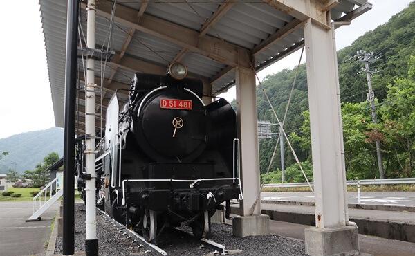 今庄の蒸気機関車