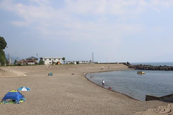 甲楽城海水浴場