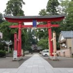 劔神社の鳥居