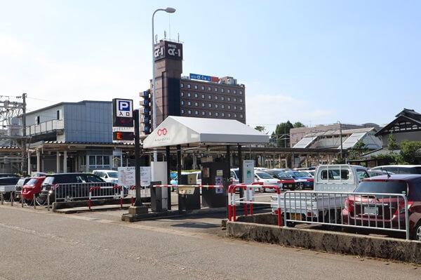 JR鯖江駅東第1駐車場