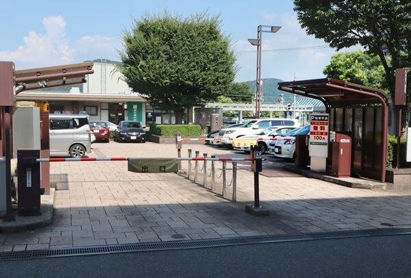 JR鯖江駅前駐車場