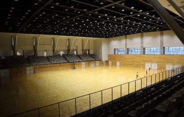 AW-Iスポーツアリーナの体育館