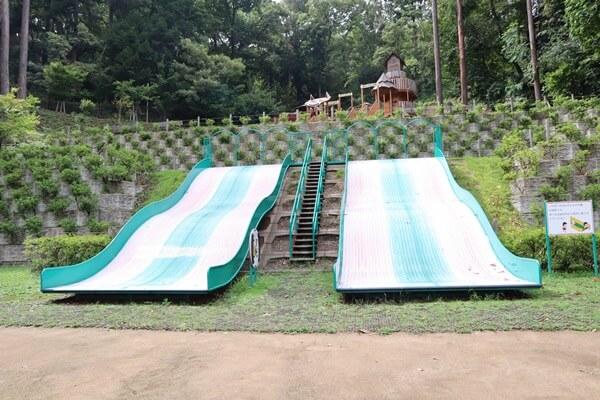 パンダらんどの大きな滑り台