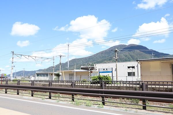 JR南条駅のホーム