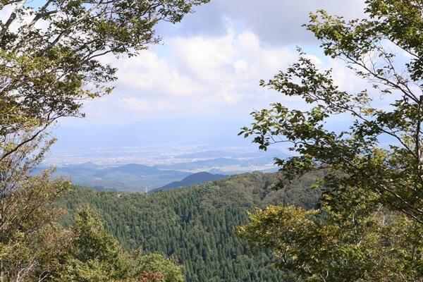越知山からの眺め