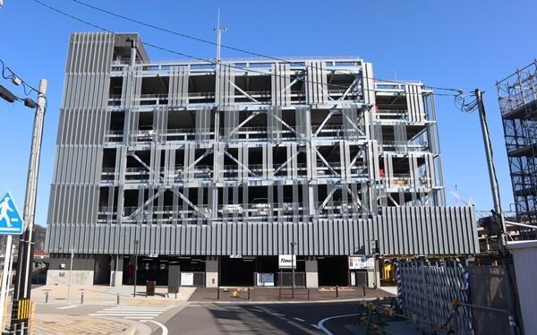 敦賀市駅前立体駐車場