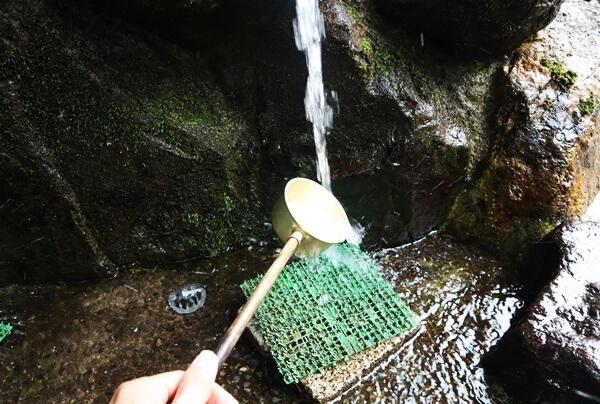 桃源清水の水