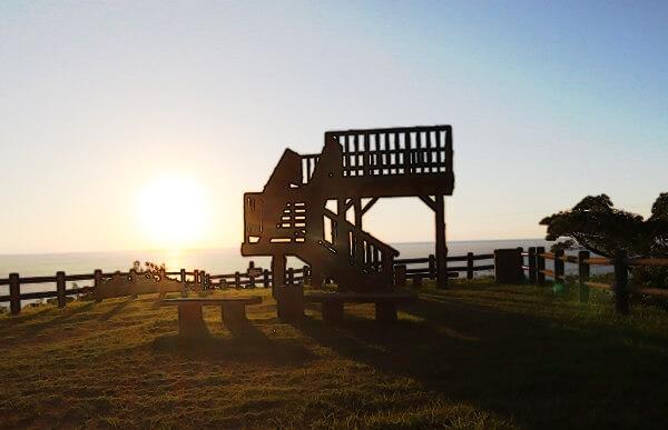 夕日の展望台