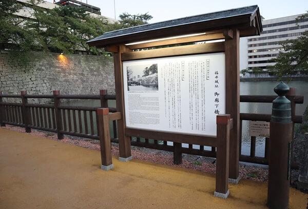 福井城山里口御門