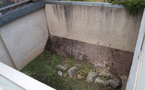 北ノ庄城の石垣