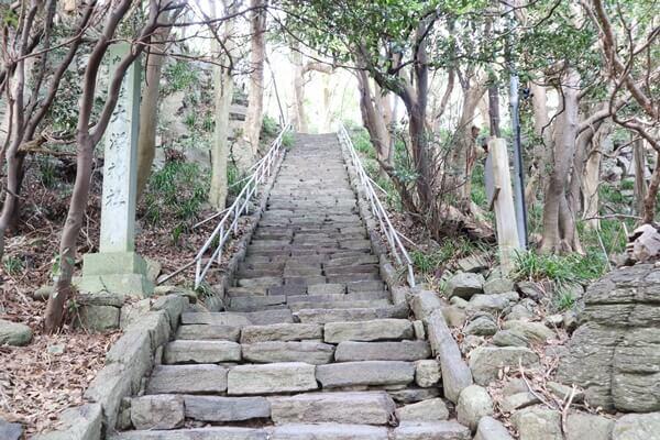 雄島の階段