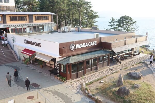 IWABA CAFE (岩場カフェ)の外観