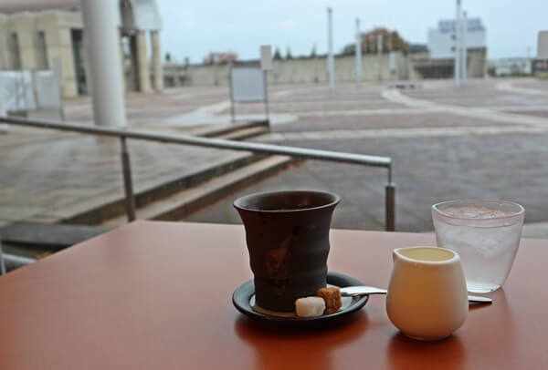 注文したコーヒー