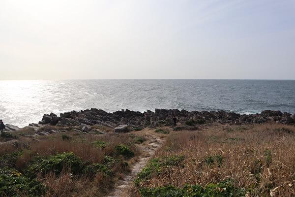 雄島の海側