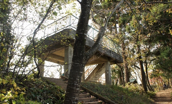 文珠山展望台