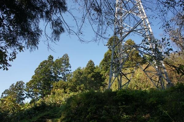 大正寺コースの鉄塔