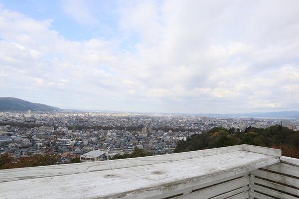 福井市の眺め