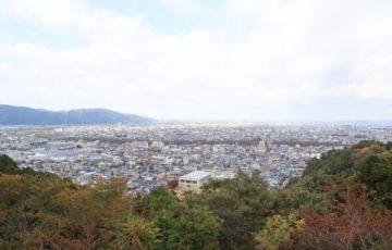 足羽山からの景色