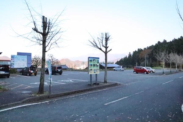 駐車場の雰囲気