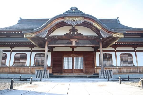 旧傘松閣資料館の外観