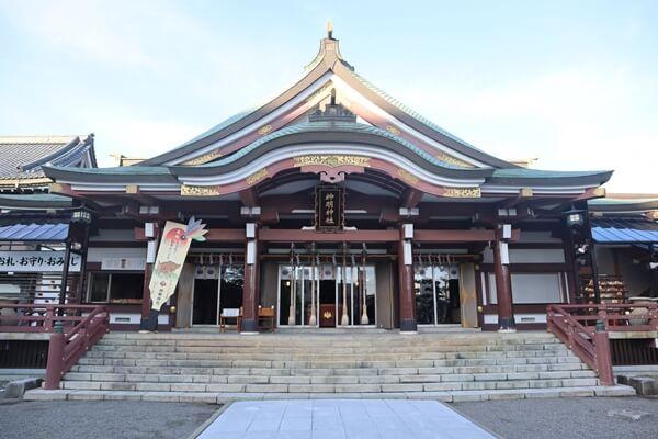 神明神社の社殿