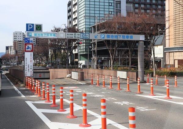 京都の駐車場