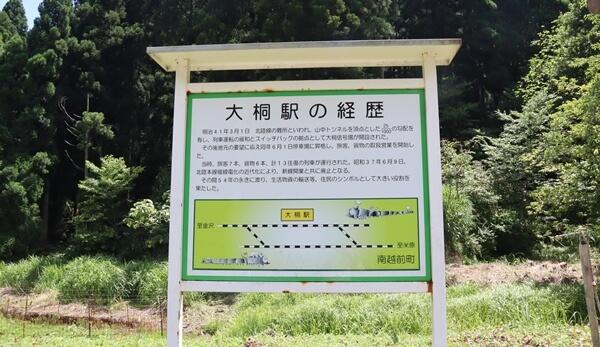 大桐駅の経歴