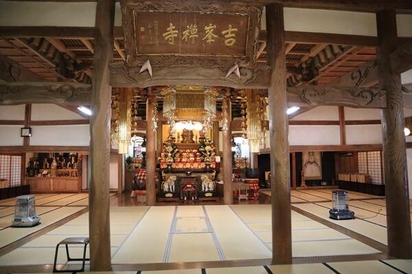 吉峰寺の法堂
