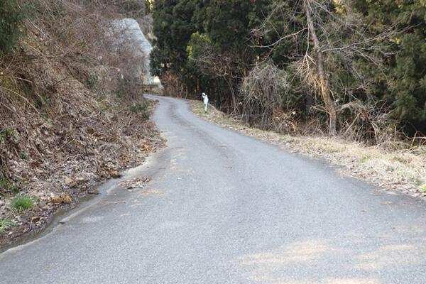 吉峰寺の道
