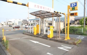 JR小浜駅の駐車場