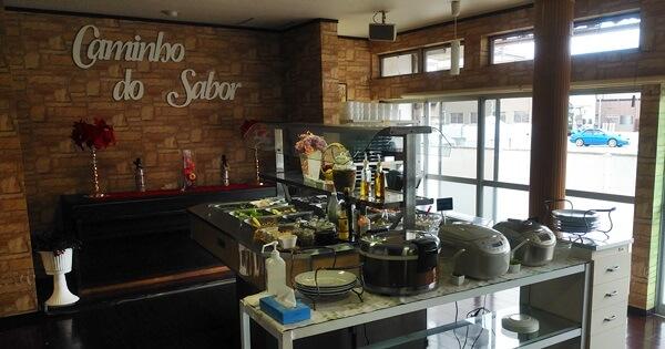 CAMINHO DO SABORの店の中