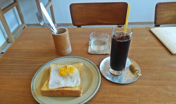エジソンカフェでの注文