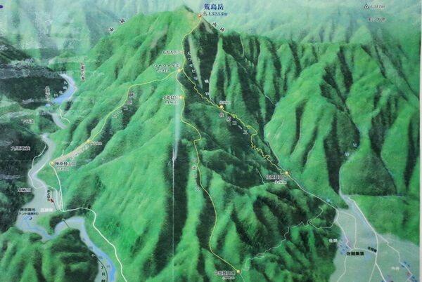 荒島岳の登り口