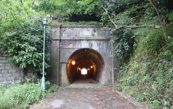 樫曲トンネルの北側