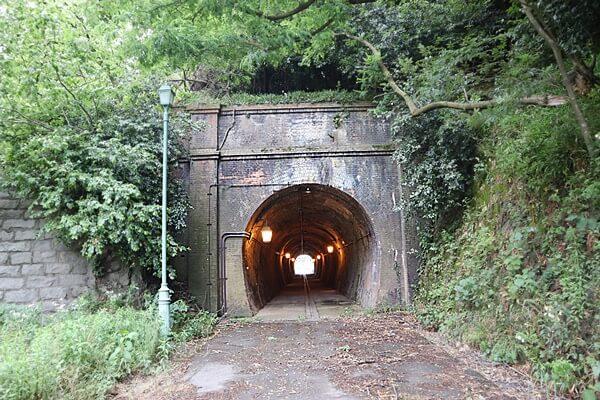 旧北陸線樫曲トンネル