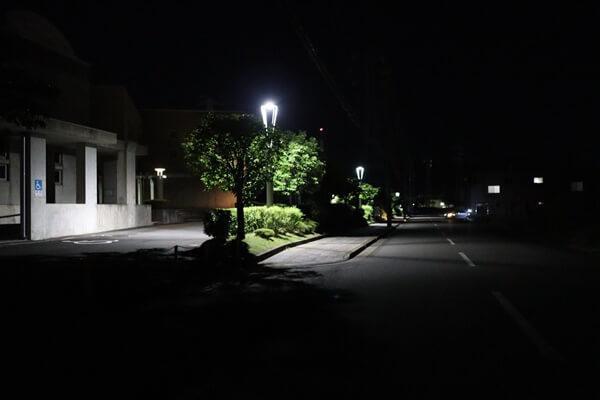 サンドーム福井の外周