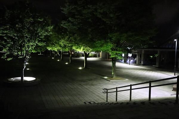 西山公園内