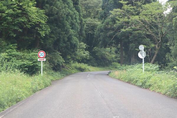 栃ノ木峠の速度