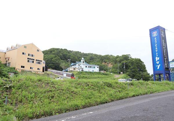 栃ノ木峠の滋賀県側のスキー場