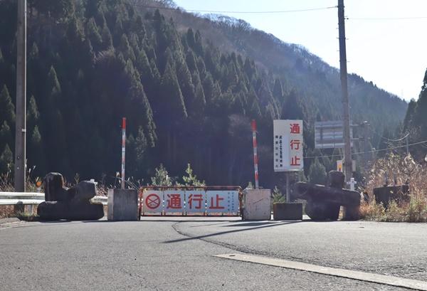 栃の木峠の冬