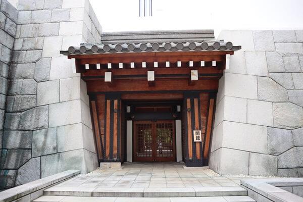 勝山城の入口