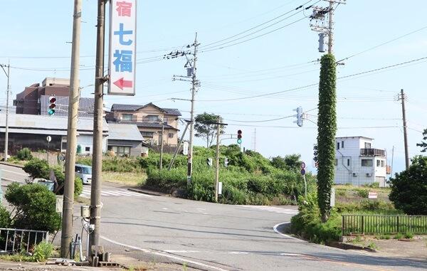 七福前の交差点
