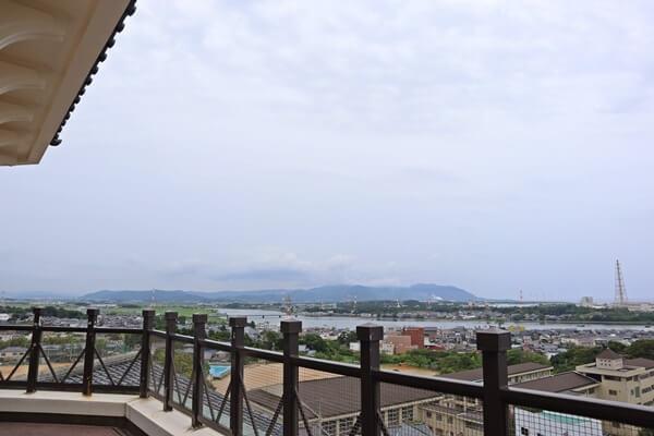 三国町の眺め