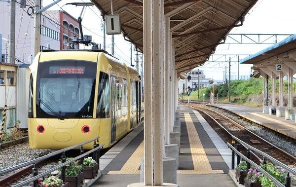 武生新駅のキーボ