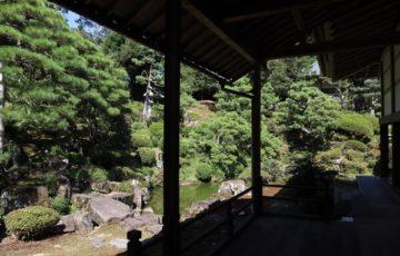 瀧谷寺庭園